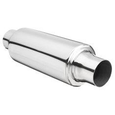 Universal Exhaust Muffler Resonator Stainless Steel