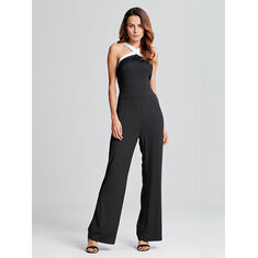 Sexy Women Backless Jumpsuit