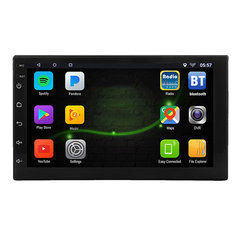 7 Inch 2 DIN for Android 8.1 Car Stereo Radio 1+16G Quad Core MP5 Player 2.5D Touch Screen WiFi GPS bluetooth