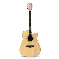 41 Inch Basswood Acoustic Guitar Classical Folk Full Size Musical Instrument