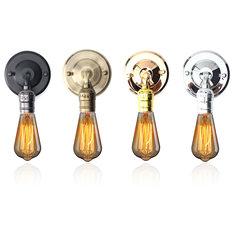 E27 Antique Vintage Wall Light Simple Design Sconce Lamp Bulb Socket Holder Fixture