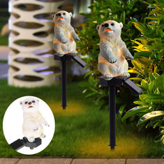 Solar Power Polar Bear Lawn Dector Garden Stake Landscape Lamp Outdoor Light