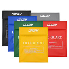 URUAV Waterproof Explosion Proof Colorful Lipo Battery Safety Bag 30X23cm
