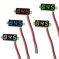 Geekcreit® 0.28 Inch 2.5V-30V Mini Digital Volt Meter Voltage Tester Two Line Voltmeter