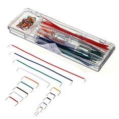 5 x 140pcs U Shape Solderless Breadboard Jumper Cable Dupont Wire Arduino Shield