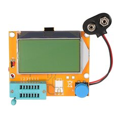 Geekcreit® LCR-T4 12864 LCD Graphical Transistor Tester Resistance Capacitance ESR SCR Meter
