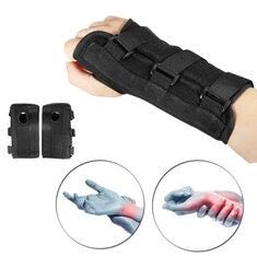 1 Pair Carpal Tunnel Hand Support Sprain Forearm Splint Band Orthotic Brace Band Belt