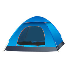 Outdoor 2-3 People Camping Tent Waterproof Automatic Quick Pop Up UV Sunshade Shelter