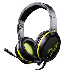 3835b7279fa ... SOMiC G801 Portable Foldable 3.5mm Auido Gaming Headset Headphone with  Removable Microphone