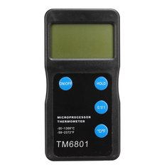 TM6801 High Temperature Microprocessor Thermometer Pyrometer -50℃-1300℃