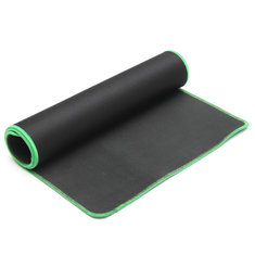 600x300x2mm Black Anti-Slip Natural Rubber Cloth Office Keyboard Mouse Pad