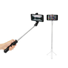 Bakeey 360 Degree Selfie Stick Tripod Desktop Phone Holder with bluetooth Remote Control