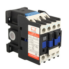 AC Contactor AC220V Coil 32A 3-Phase 1NO 50/60Hz Motor Starter Relay LC1 D1810