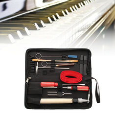 13Pcs Professional Piano Tuning Maintenance Tool Kits Wrench Hammer Screwdriver with Case US