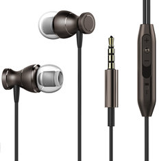 Universal Magnetic Wired Control In-ear Stereo Earphone Headphone with Mic