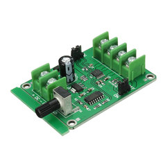5Pcs 5V-12V DC Brushless Motor Driver Board Controller For Hard Drive Motor 3/4 Wire