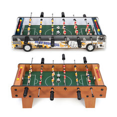 6 Rods Table Soccer Games 2 Players Football Competition Mini Sports Toys Set
