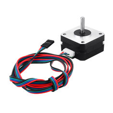 17HS4023 12V Nema 17 2 Phase Stepper Motor For Titan Extruder 3D Printer Motor