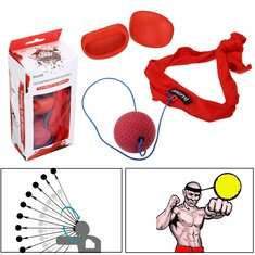 Boxing Equipment Head Band Fight Ball With Boxing Gloves Speed Training Boxing Ball