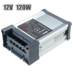 IP65 AC 100V-264V To DC 12V 120W Switching Power Supply Driver Adapter