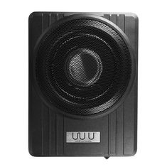 10 Inch 12V 600W Black Ultra-Thin Under-Seat Car Active Subwoofer Speaker