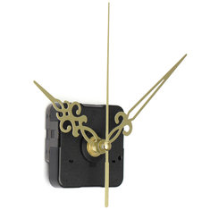5pcs Gold Hands DIY Quartz Wall Clock Spindle Movement Mechanism