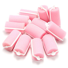 Pink Soft Foam Cushion Hair Styling Rollers Curlers