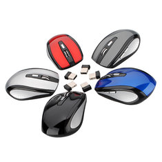 2.4GHz Wireless Cordless Optical Mouse Five Color For Window 7/ Vista