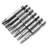 7pcs 50mm 1/4 Inch Magnetic Pentacle Head Screwdriver Bits