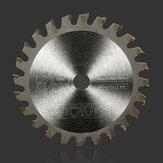 85mm 24 dientes de sierra TCT circular discos de ruedas cuchilla para cortar madera