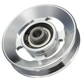 88mm Aluminum Alloy Bearing Wheel for Fitting Equipments