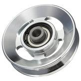 Roda de rolamento de liga de alumínio de 88mm para equipamentos de montagem