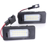 License Plate Lamp LED White Light for Audi A4 A5 Q5 S5 TT 08-13