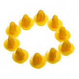10PCS Yellow Car Türverkleidung Karte Clips für Ford Focus Galaxy