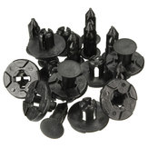 10PCS 8mm Plastic Rivet Fastener Bumper Fender Push Clips For Nissan