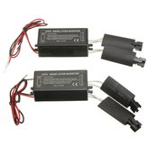 2X Zwart 12V Reserve CCFL Angel Eyes Inverter Voor BMW E36 E46 E53 E83