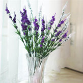 5 Colors 38cm Artificial Lavender Simulation Lavender Silk Flower Home Wedding Decor