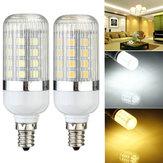 E12 dimmerabile 4.5W 36 SMD 5050 LED mais lampada lampadina 110v