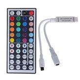 44 Key Mini IR Дистанционный Контроллер управления для 3528 5050 RGB LED полосы света