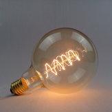 G125 e27 40w 220v filo involucro lampadina ad incandescenza lampadina retrò edison