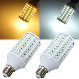 E27 15W 5630SMD 84 lámparas de la bombilla del maíz del LED ahorro de energía 220V