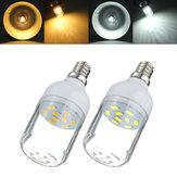 E12 3w branco / branco morno 9 SMD 5730 LED luz 300lm local bulbo milho 220v