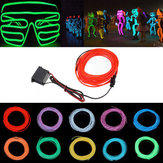 5M 12V Flexible Neon EL Wire Light Zomer Dansende Party LED Strip Light