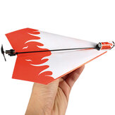 Folding Electric Power Paper Aircraft Conversion Kit Toy Gave
