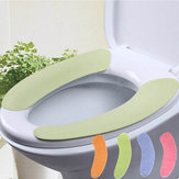 1 Pair Soft Bathroom Toilet Seat Cover Washable Closestool Mat