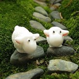 Micro Landscape Decoration Mini Cute Goat Garden DIY Decor