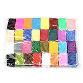 32pcs colorido modelado polímero fimo arcilla arte suave juguete de bricolaje
