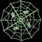 Araña luminosa la barra casa embrujada ktv objetos de decoración