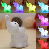 7 màu thay đổi voi LED đêm ánh sáng pin trang trí tiệc