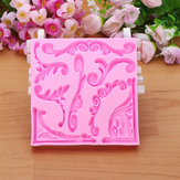 3D Leaf Silicone Fondant Lace Mould Cake Decoarting Mould